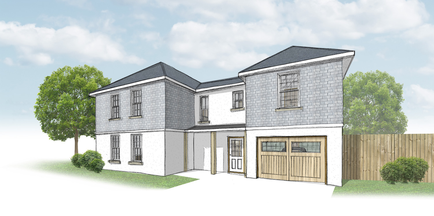 Council grants planning permission for 14 new homes in Colebrook, Plympton